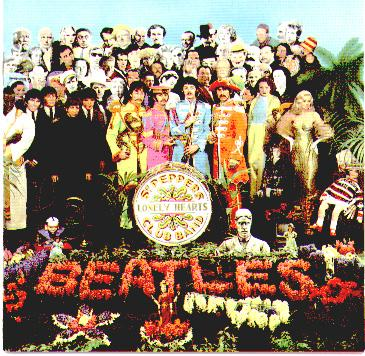 Sgt Pepper's cover